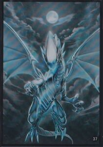 (60)YuGiOh Small size Blue-Eyes White Dragon Card Sleeves 60 Pcs 63x90 mm