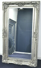 Large Champagne Silver Mirror 150cm x 89cm