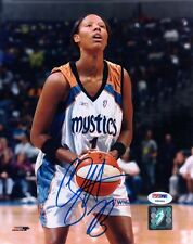 Chamique Holdsclaw Signed Autographed 8x10 Photo Washington Mystics Rare Psa/Dna