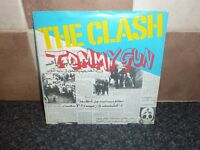 THE CLASH TOMMY GUN PICTURE SLEEVE 1978 CBS 6788 VG