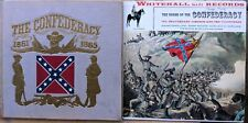 CONFEDERACY Music Collectibles Lot: 2 LP records (1 with hardcover booklet)