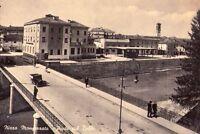 NIZZA MONFERRATO (ASTI) - PONTE SUL BELBO - RARA CARTOLINA - ANNI '40