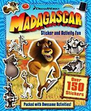 DREAMWORKS __ MADAGASCAR __   STICKER AND ACTIVITY FUN _ BRAND NEW _ FREEPOST UK