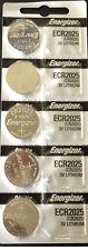 Energizer ECR2025 (CR2025) 3V Lithium Coin Batteries (1 pack of 5