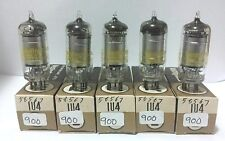 5 Date Matching Westinghouse 1U4  Vacuum Tubes Tested New On Calibrated Hickok