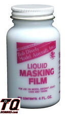 Bob Dively RC Body Liquid Mask Film 4 oz.  Fast ship with Track# Incl.