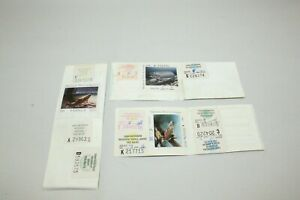 MICHIGAN TROUT FISHING STAMPS 1984, 1986, 1989 Lot
