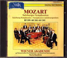 MOZART Symphony 27 29 30 WIENER AKADEMIE Martin Haselböck CD Sinfonien Novalis