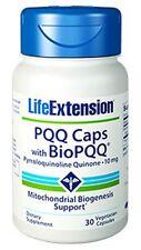 PQQ Caps with BioPQQ (10 mg) - Life Extension - 30 Veggie Capsules