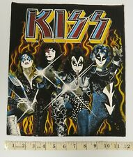 KISS BACKPATCH 1976 GROUP WITH ERIC CARR ERROR  - UK RELEASE 1980'S