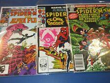 Marvel Team Up Annual #5,6,7 Bronze age Spider-man lot of 3 FVF