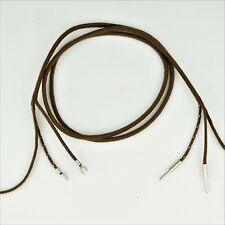 Cloth Covered Receiver Cord - Brown - Pin - Spade - SKU - 30007 - Best on Market