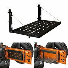 Tailgate Table Rear Foldable Storage Cargo Shelf for Jeep Wrangler JK 2007-2018
