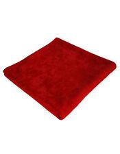 Asciugamani rosso telo da doccia per il bagno 100% Cotone