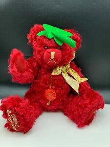 Hermann Teddy Bear Strawbeary 15 11/16in Limited Unrecorded