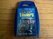 Top trumps specials card game set Lord of the Rings Return of the King LOTR new