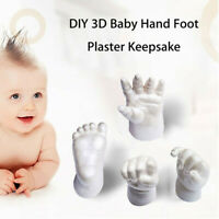Baby Casting Kit 3D Rubber Replica DIY Mould HAND or FOOT Baby Powder Scented