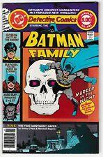 DETECTIVE COMICS #481 BATMAN FAMILY! MAN-BAT! BATGIRL! ROBIN! 68 Pages! DC VF/NM