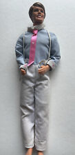 Vintage Ken Doll Suspenders PinkTie Heart 1984 Happy Family Dad Barbie 80s 90s