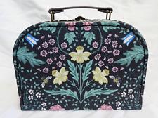 Jardín De Medianoche/Caja de almacenamiento de información de William Morris estilo maleta-Pequeño-Nuevo