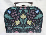 Midnight Garden / William Morris Style Suitcase Storage Box  - Small -  NEW
