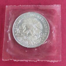 GIOCHI olimpici del Messico 1968 PESOS argento 25-CONFEZIONE SIGILLATA