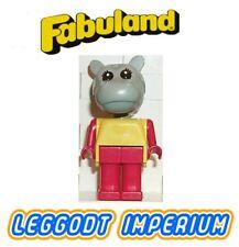 LEGO Fabuland Hannah Hippopotamus - rare minifig fab6e FREE POST