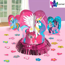 My Little Pony Party Supplies Favours TABLE DECORATING KIT With Confetti