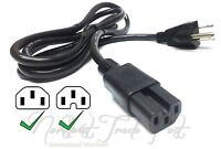 HP Procurve Power Cord 6ft 18AWG IEC C15 for Network Switch 3 Prong Notched Plug
