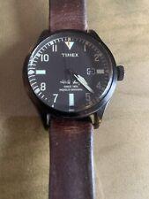 Timex Men's The Waterbury Analog Quartz Black With Beautiful Leather Band