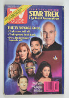 TV Guide May 14-20 1994 Star Trek The Next generation ENDS Patrick Stewart