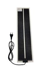 Tropic Shop - Ultraflache Heizmatte -/ Wärmematte fürs Terrarium - 15w  58x15cm