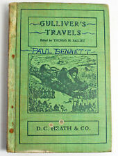 1900 Gulliver's Travels by Jonathan Swift Heath Publishers Illustrated