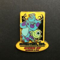 WDW - Monsters Inc. Opening Day 11-02-01 - LE 2000 Disney Pin 7770