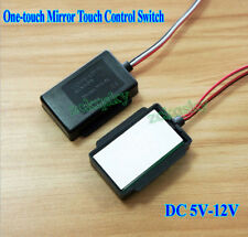 DC 5V-12V One-touch Mirror Touch Control Switch For Glass Lamp Mirror Light LEDS