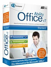 Avanquest Ability Office 7 Win deutsch