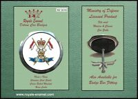 Royale Classic Car Grill Badge + Fittings - 9TH 12TH ROYAL LANCERS - B2.3016