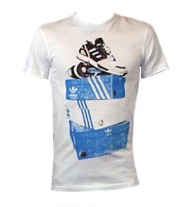 Adidas Originals Cotton TEE SS Tshirt print Logo Top White X34448  XS,M,L,XL