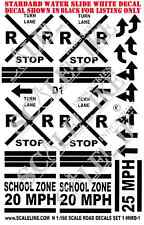 SCALELIKE INDUSTRIES N-RRX DECAL SET 1 (NRD-1) WATER DECALS FACTORY NEW
