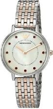 NEW EMPORIO ARMANI CRYSTALS TWO TONE STAINLESS STEEL LADIES WATCH AR2515