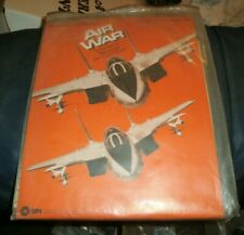 Air War, SPI ZIP BAG Game, 1977 with New Edition Rules, Charts, Planes UNPUNCHED