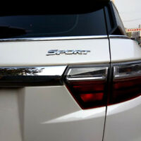 Emblème autocollant Logo SPORT CHROME Toyota Highlander PAJERO BMW HONDA VW KIA