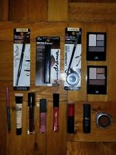 Lot of 13 Loreal Maybelline Lip Liner Eye Shadow Lipstick Lip Gloss Concealer