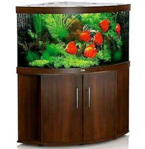JUWEL Trigon 350 Aquarium mit Unterschrank dunkelbraun
