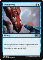 Switcheroo 4x uncommon M19 Core set 2019 MTG Magic The Gathering 4x