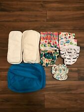 Alva reusable cloth diapers (inserts and bag included)