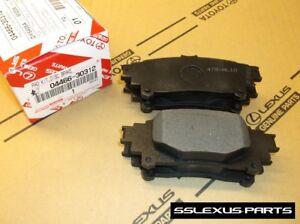 Lexus IS350 IS200T (2014-2018) OEM Genuine REAR BRAKE PADS / PAD SET 04466-30312