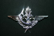 FRENCH FOREIGN LEGION 1ST RE COMBAT DIVER DINOPS WING BADGE SILVER