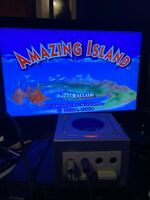 Amazing Island (Nintendo GameCube, 2004); Complete With Manual Tested
