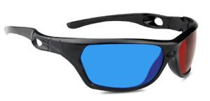 3D Brille rot/cyan (3D-Anaglyphenbrille) hochwertige 3D Brille Marke PRECORN